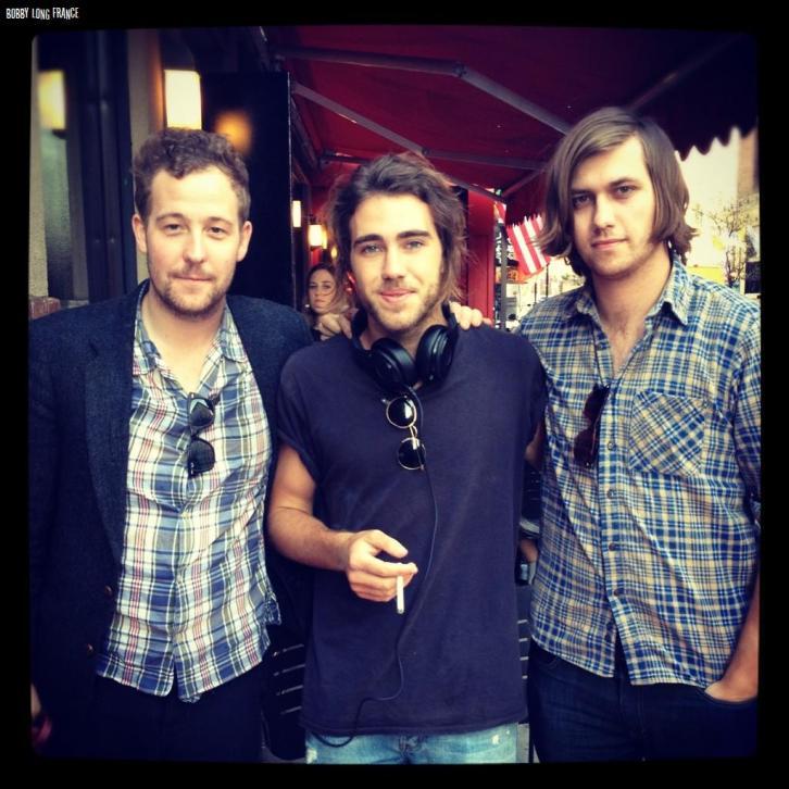 (Marcus Foster, Matt Corby & Bobby Long (Photo : Jack Standen)